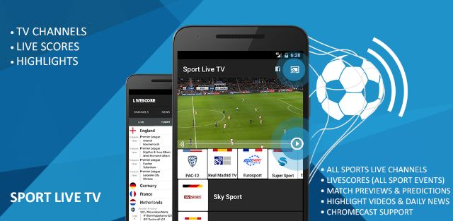 Football Live TV – Live Score – Sport Television